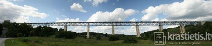 Panorama Lyduvėnų tiltas