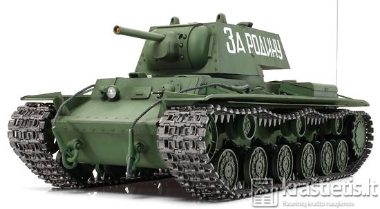 KV-1 tankas (wonderlandmodels.com nuotrauka)