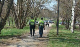 policija gamta