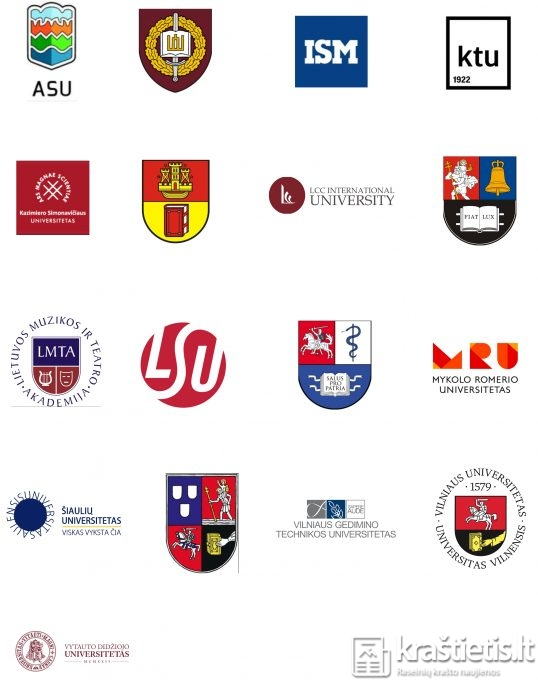 universitetai